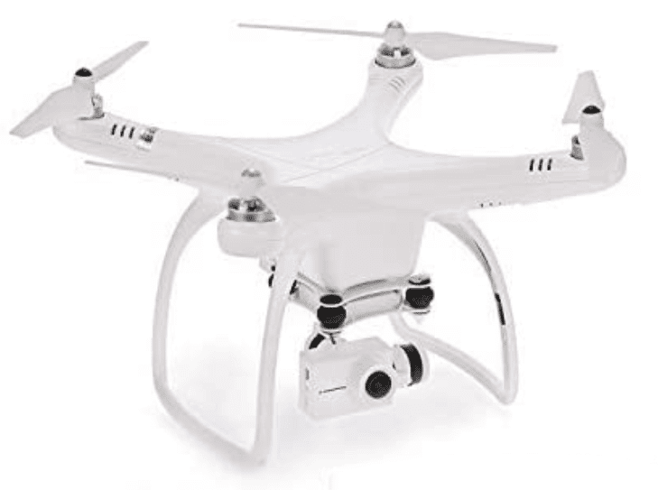 UPAIR One Plus Quadcopter Drone GPS Return to Home Function, Follow me, Auto Return, Altitude Hold