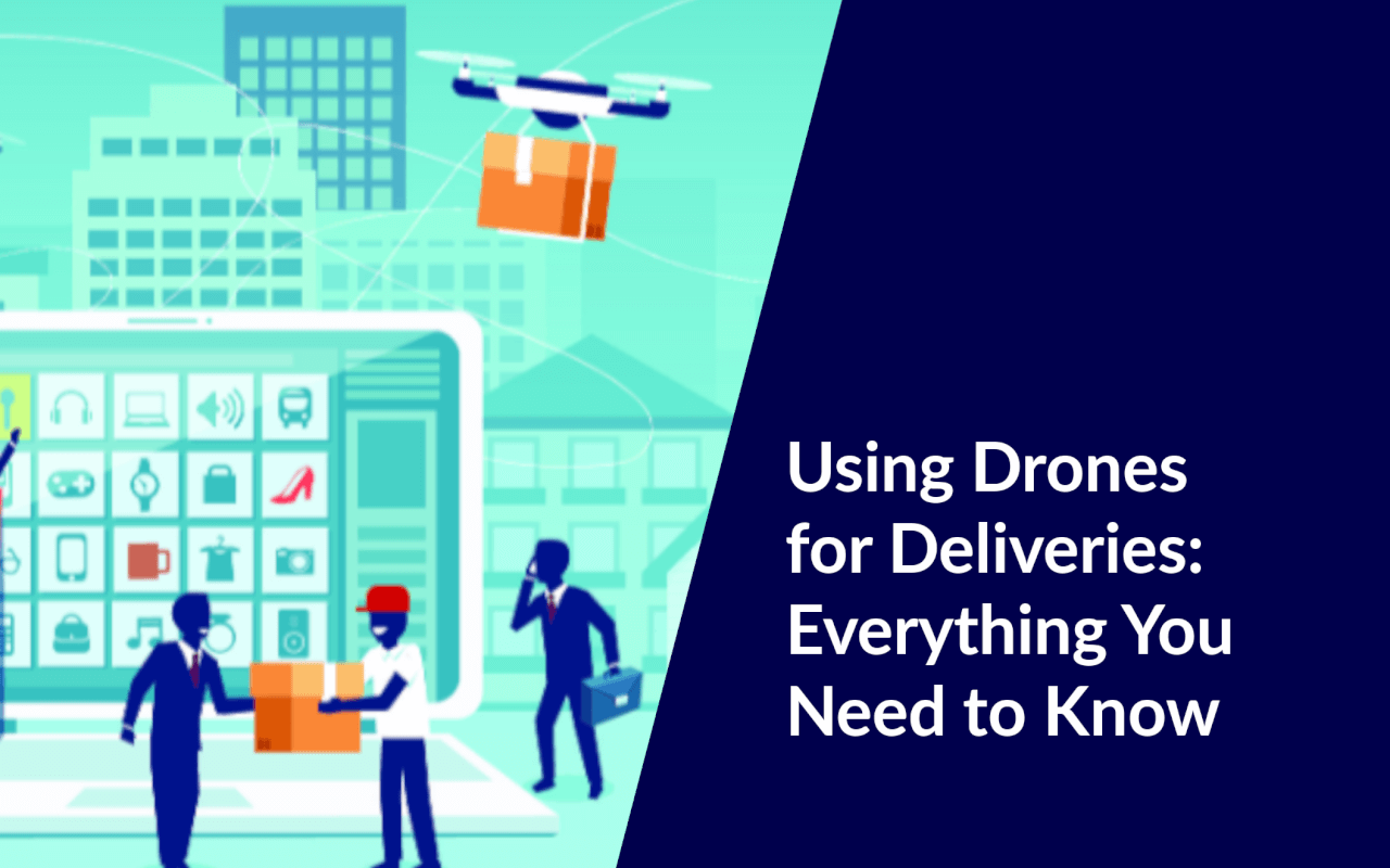 drones for delivery