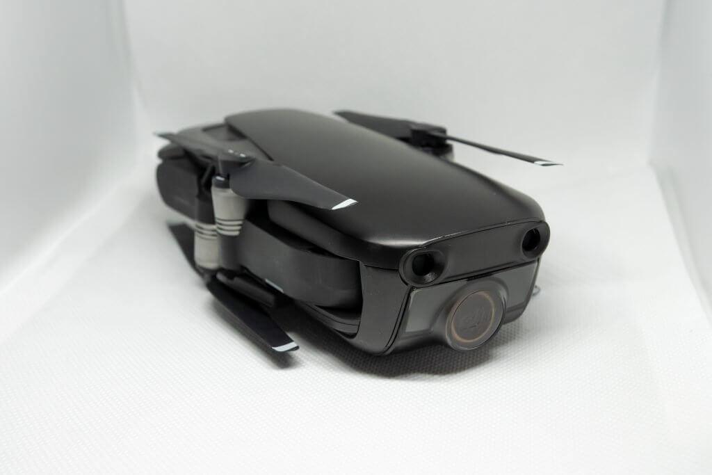 The foldable DJI Mavic Air Quadcopter