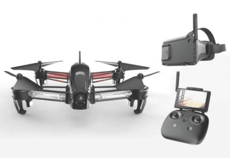 Bolt Drone FPV Racing Drone Carbon Fiber with First Person View Goggles