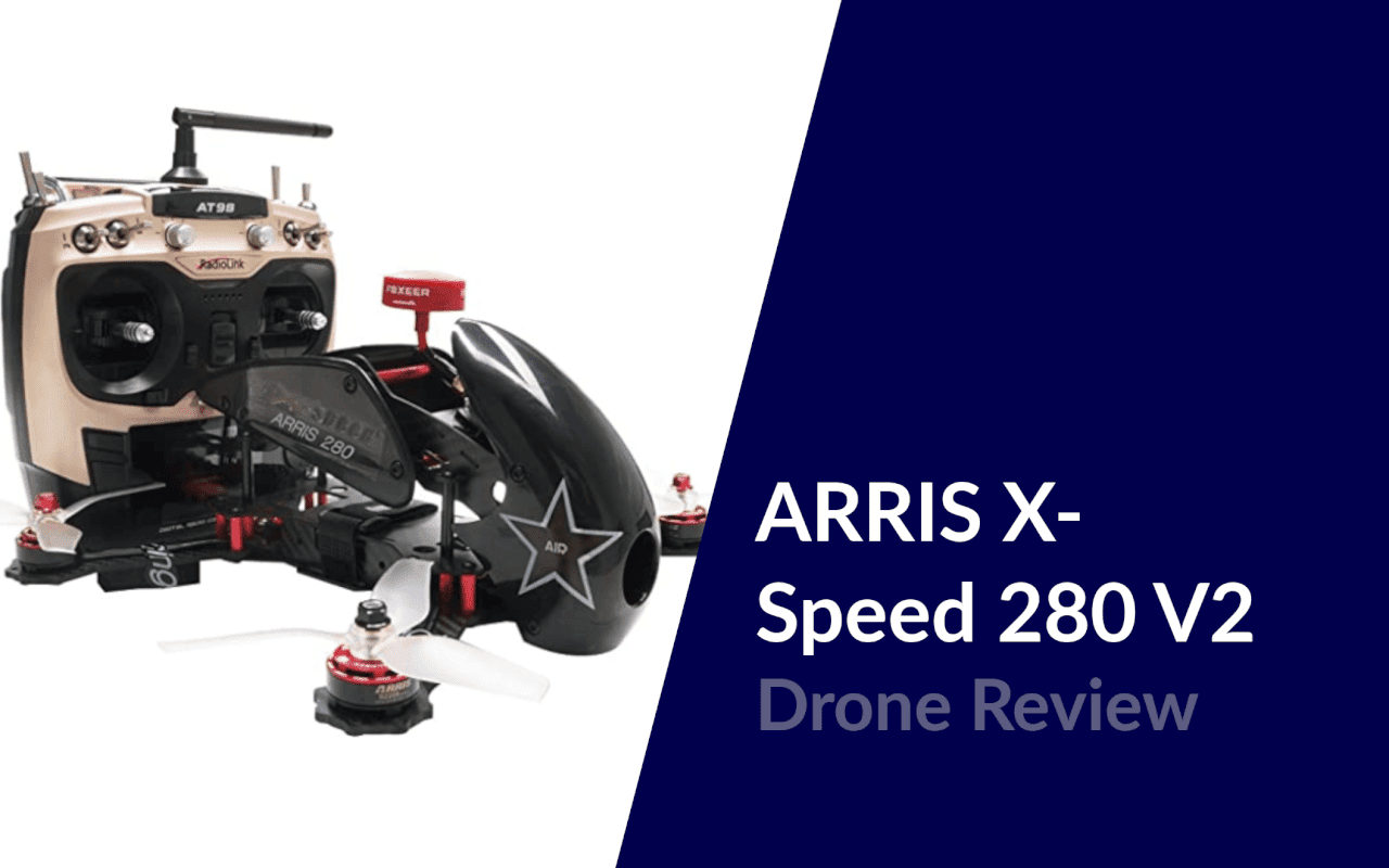 arris x speed 280 v2 fpv racing drone review