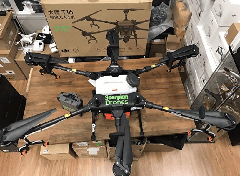 DJI Agras T16 New Model Precision Spraying Custom Drone