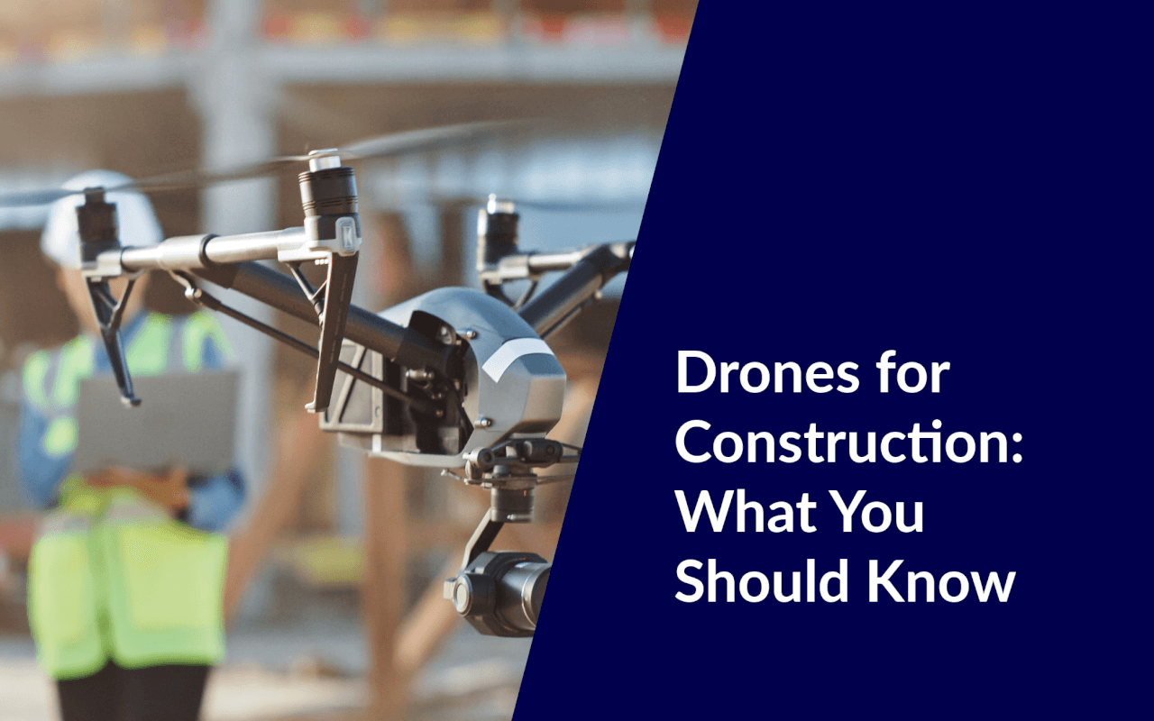 using drones to construct buildings