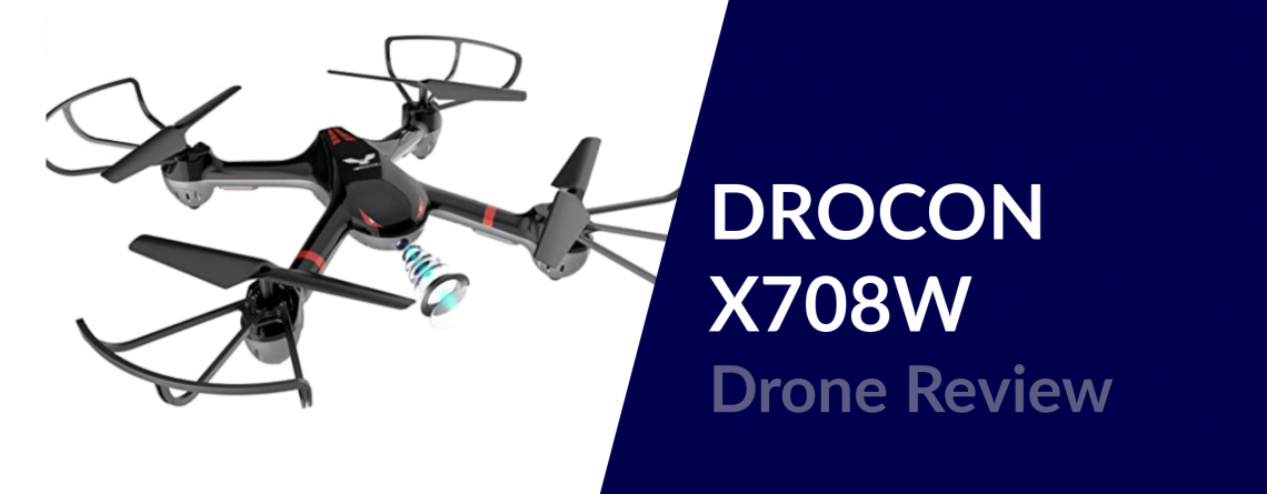 drocon x708w drone review