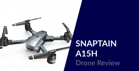 snaptain a15h drone review
