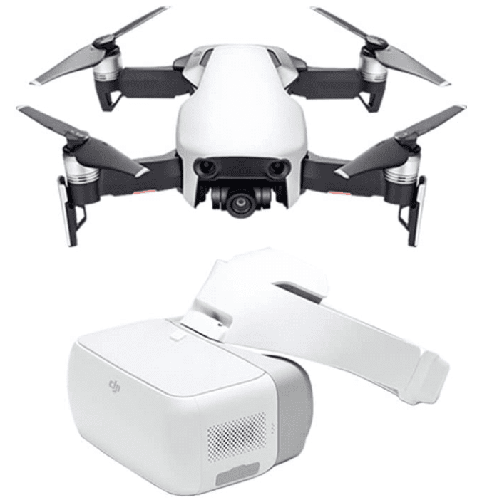 The best pick for travelling with GPS: DJI Mavic Air Fly More Combo & DJI Goggles