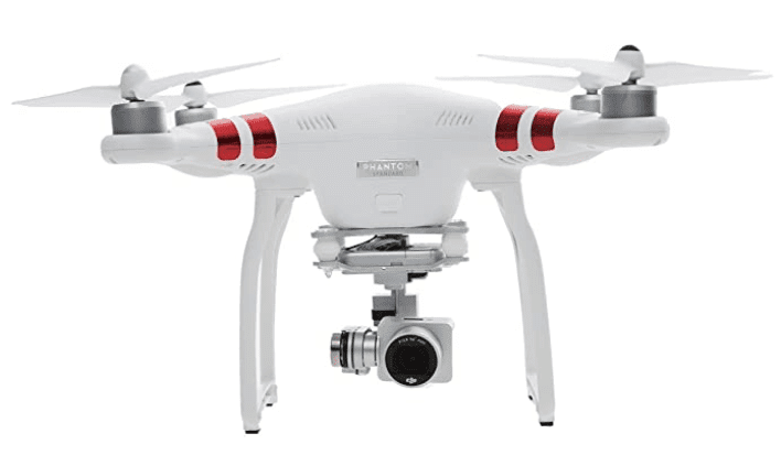 The best budget professional GPS UAV: DJI Phantom 3 Standard Quadcopter Drone