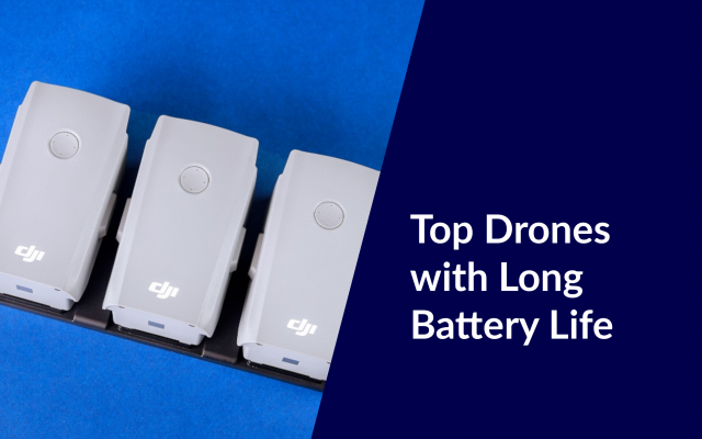 drones with long battery life