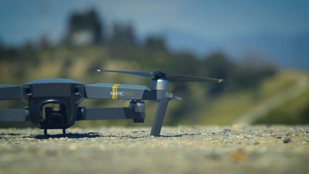 The DJI Mavic Pro 4K Quadcopter